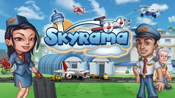 Skyrama / Скайрама - онлайн игра про аэропорт