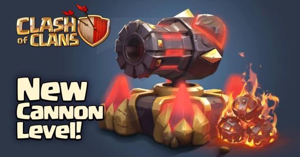 Clash of Clans - новые пушки