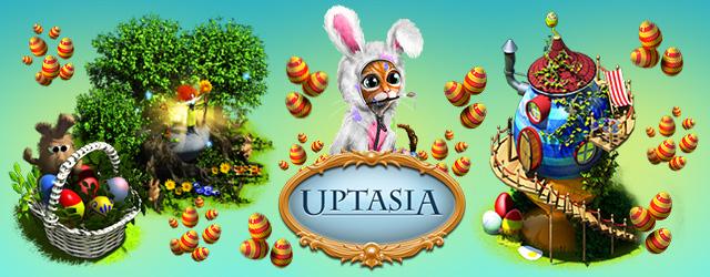Пасхальные яйца в игре Uptasia