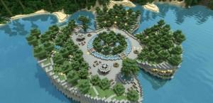 Парки отдыха в Minecraft