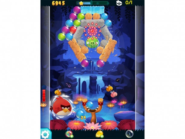 Angry Birds Stella Pop Red Screenshot