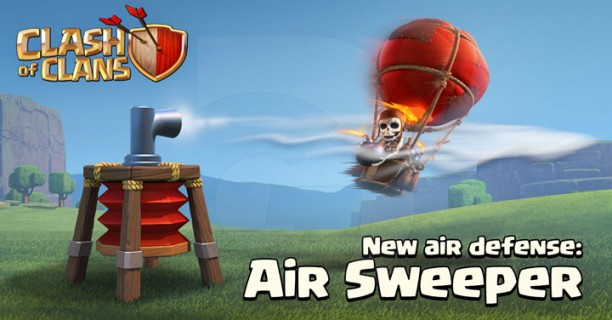 Clash of Clans Air Sweeper