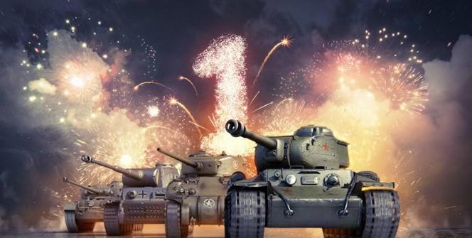 World of Tanks Blitz 1 год