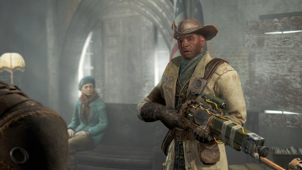 Preston Garvey и лазерный мушкет