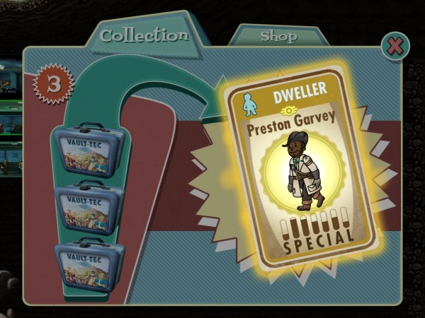 Preston Garvey в Fallout Shelter