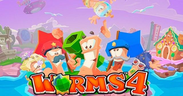 Скачать Worms 4 для iPhone и iPad