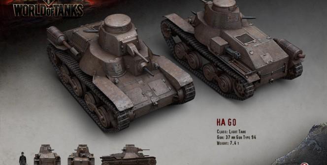 WoT Japanese Tanks