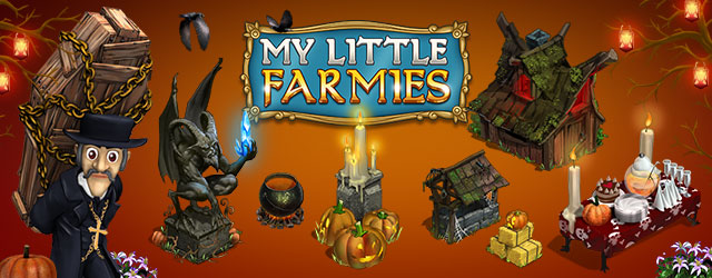 My Little Farmies Хэллоуин 2015