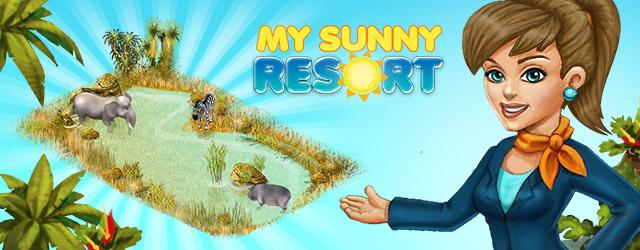 Оазис в My Sunny Resort