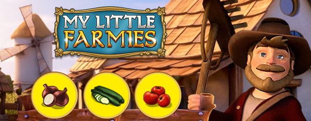 My Little Farmies Новые овощи