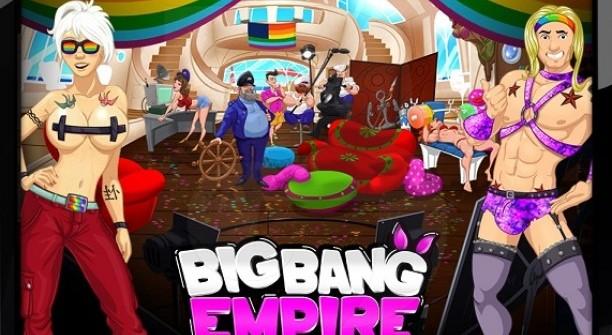 Гей парад в игре Big Bang Empire