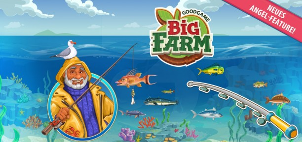 Рыбалка в Большой ферме