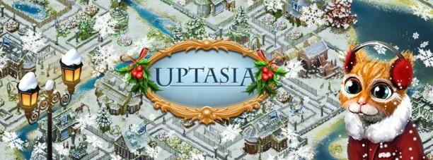 Новый год в Uptasia